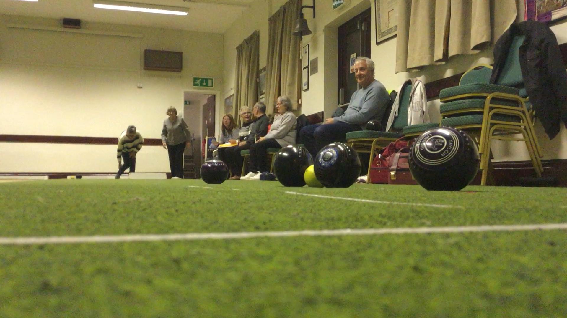 Short Mat Bowls in Penally