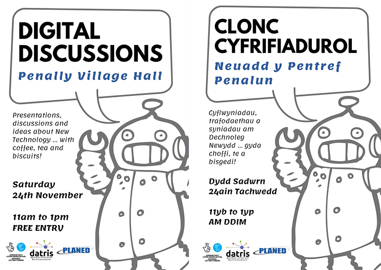 Digital Discussions in Penally