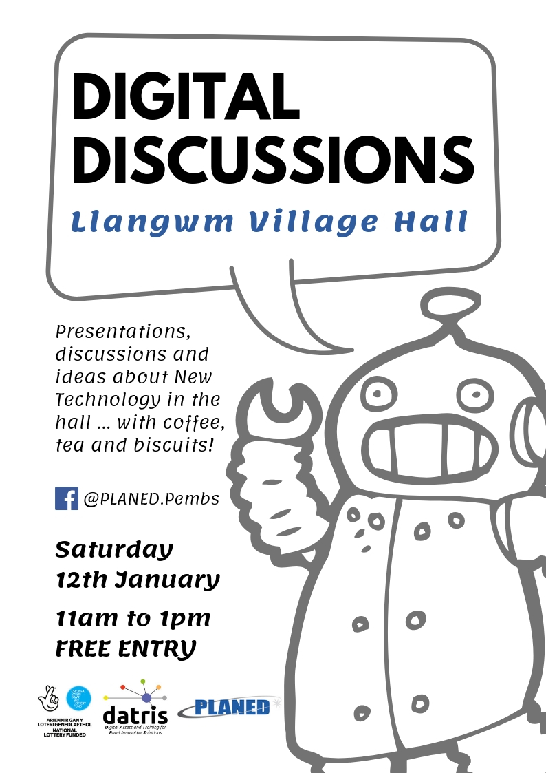 Digital Discussions in Llangwm