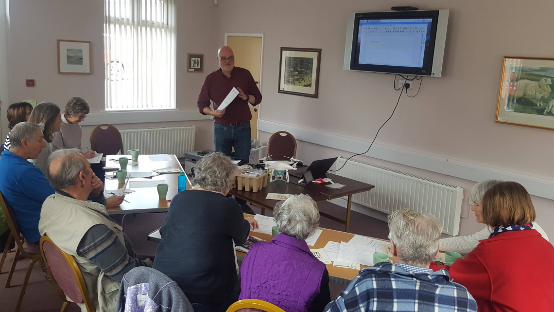 Digital Discussions in Maenclochog
