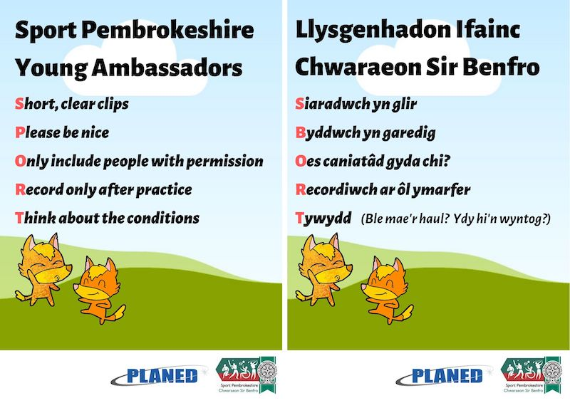 Sport Pembrokeshire Young Ambassador Conference